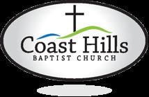 Coast Hills Baptist Church in Santa Maria. Still Church. Logo